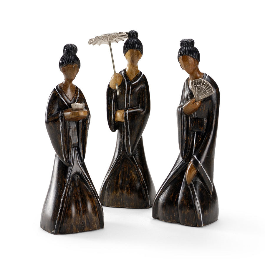 Sitting Ladies (Set of 3)