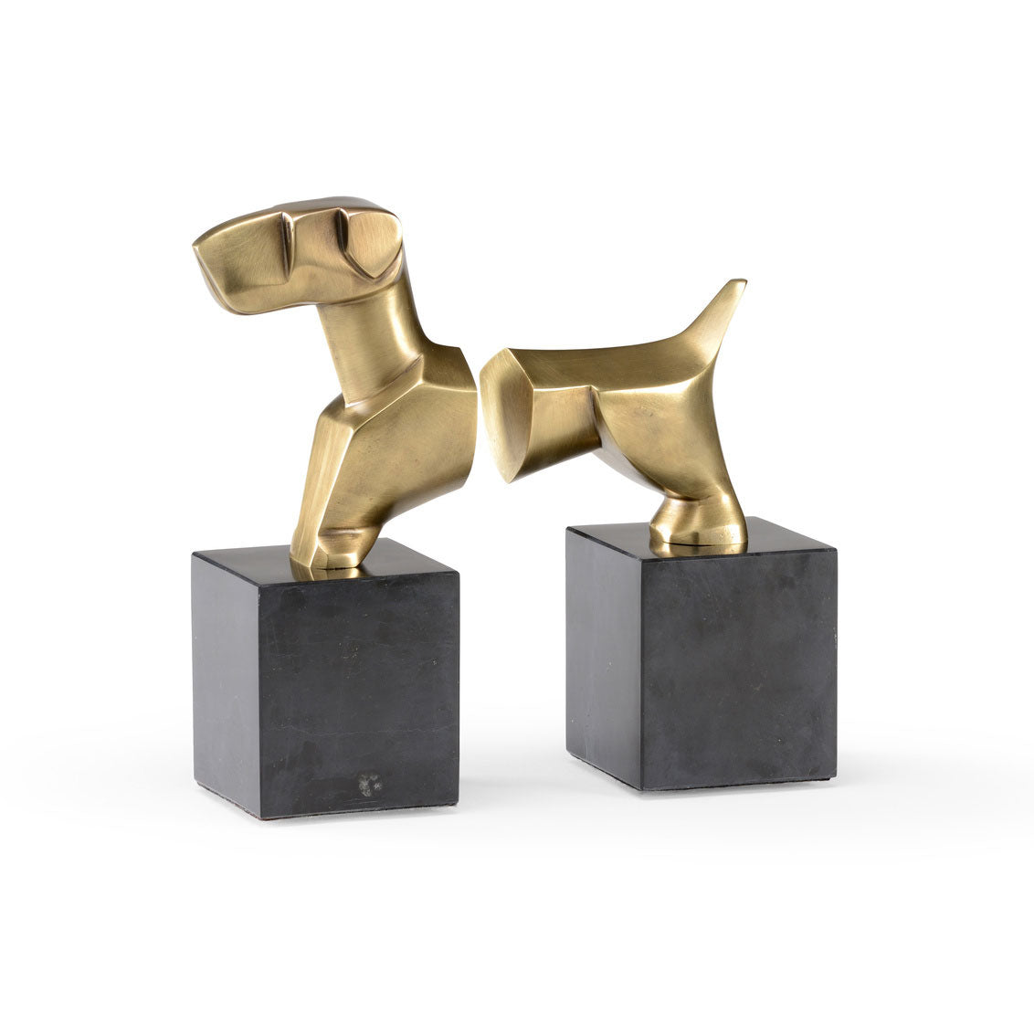 Stylized Dog Bookends (Pair)
