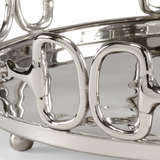 Stirrups Tray (Lg) Nickel