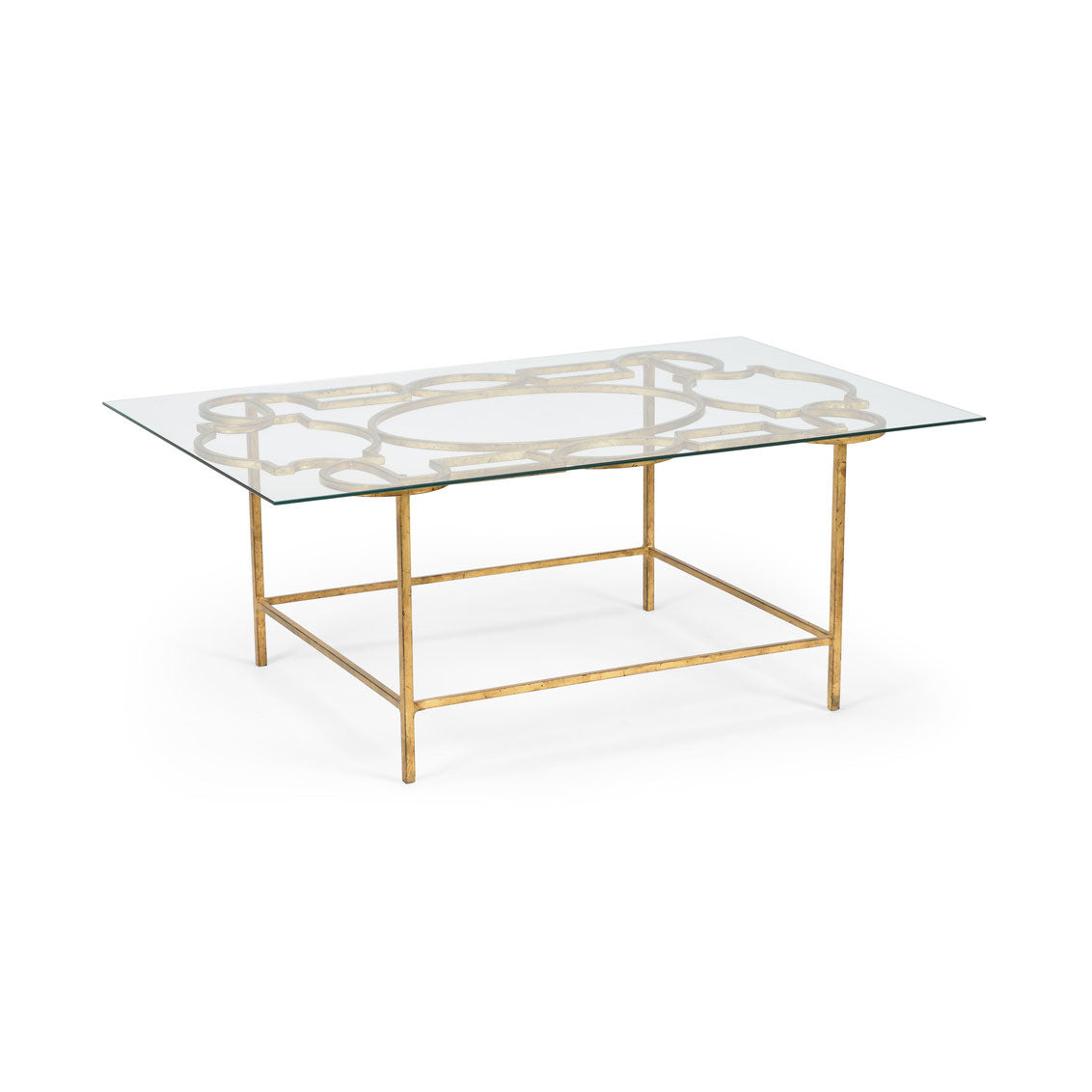 Tracery Cocktail Table-Gold