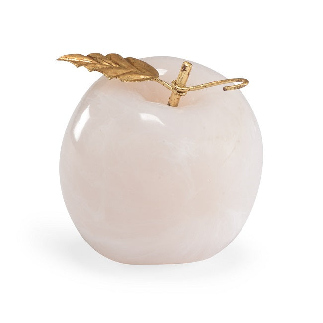 Ceramic Apple with Gold Trim