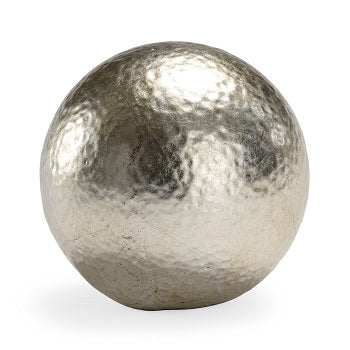Hammered Ball - Silver (large)