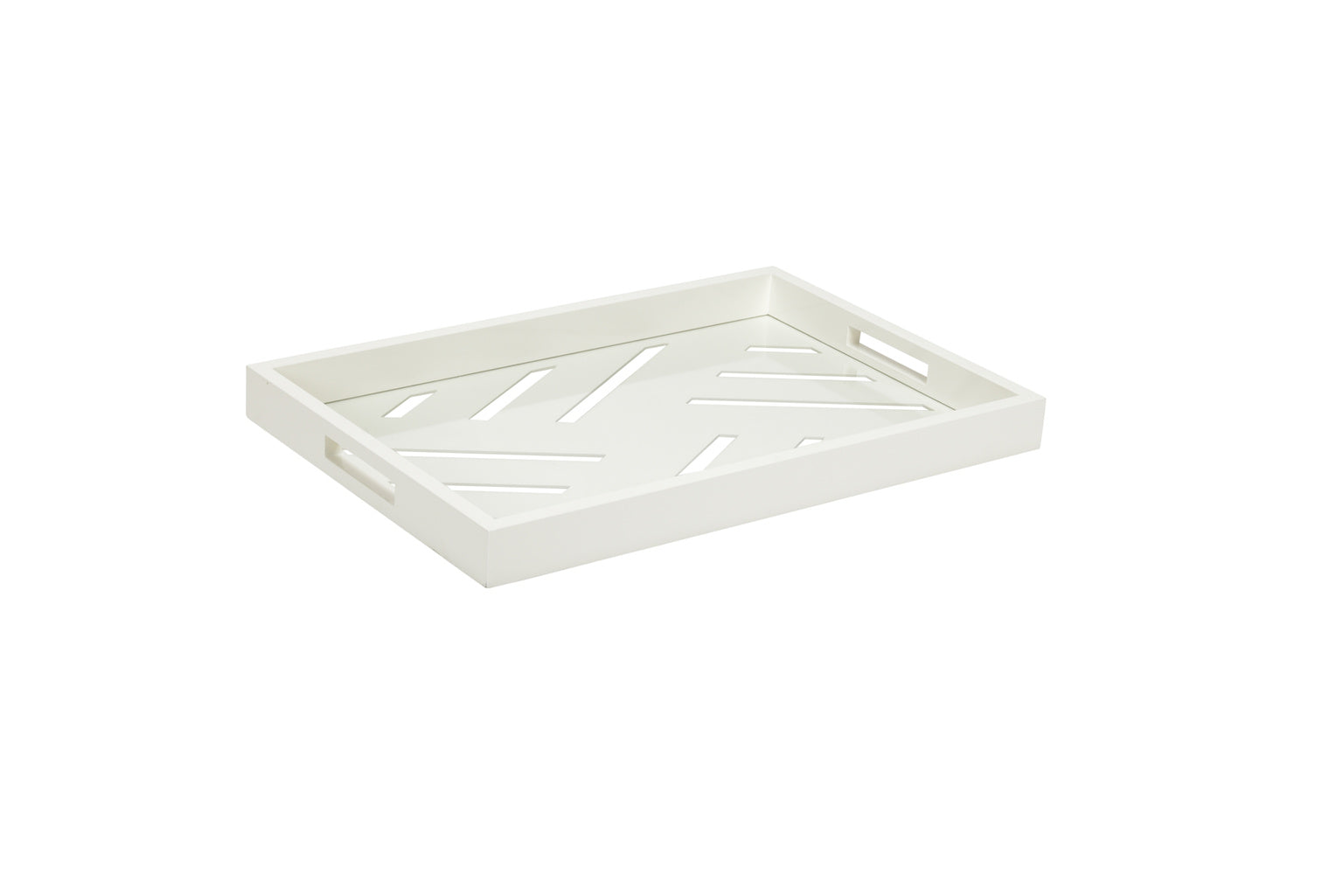 Tidewater Tray-White