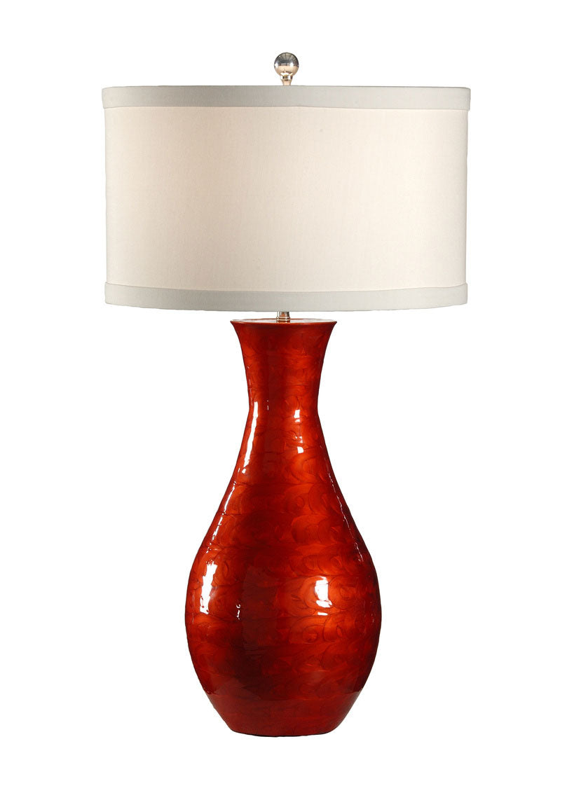 Lacquer Swirls Lamp
