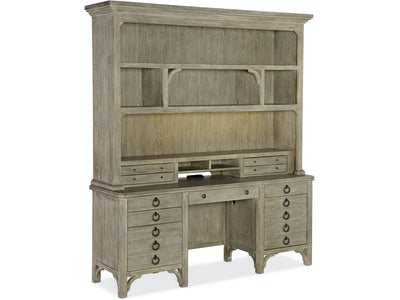 Repose Hutch and Credenza home office furniture Hooker Furniture