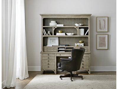 Repose Hutch home office furniture Hooker Furniture lifestyle hutch and credenza