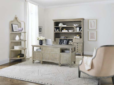 Repose Hutch home office furniture Hooker Furniture Repose Collection