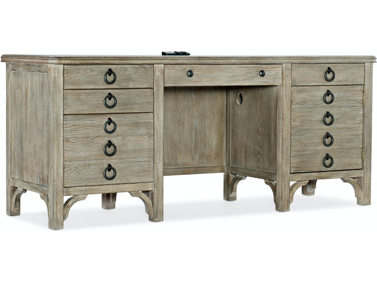 Repose Credenza home office furniture Hooker Furniture
