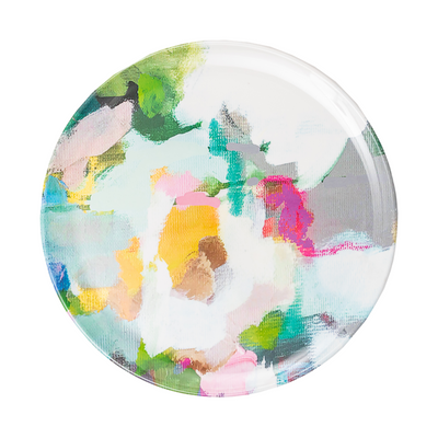 Park Avenue Melamine Plate in vivid colors patio dining plate from Laura Park Designs
