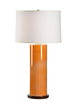 Anderson Lamp Orange Euroceramic