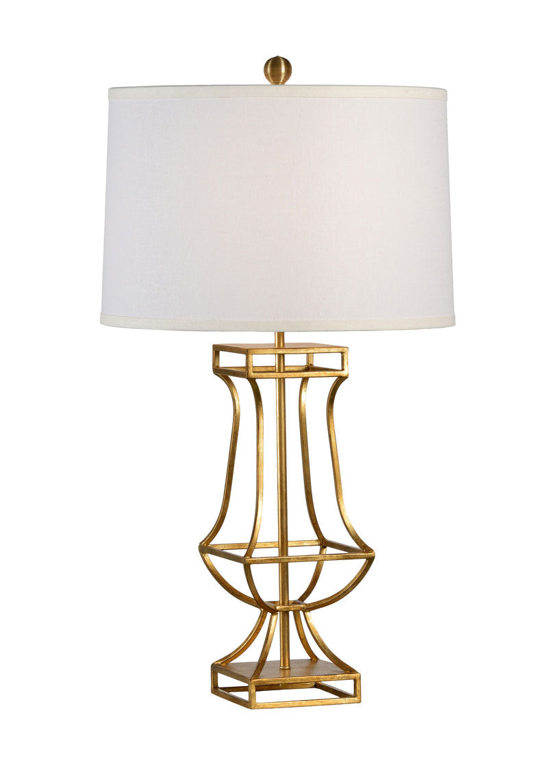 Garrison Lamp-Gold