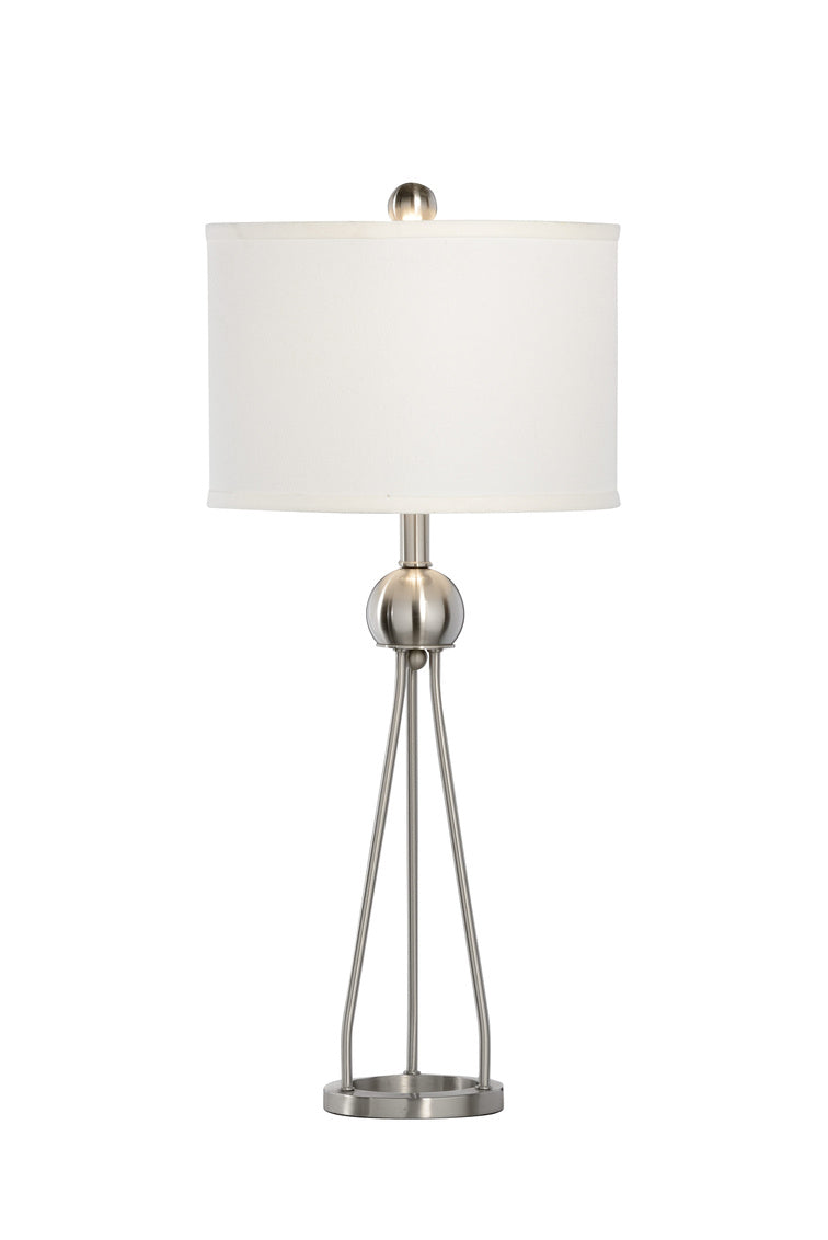 Duncan Table Lamp in Nickel