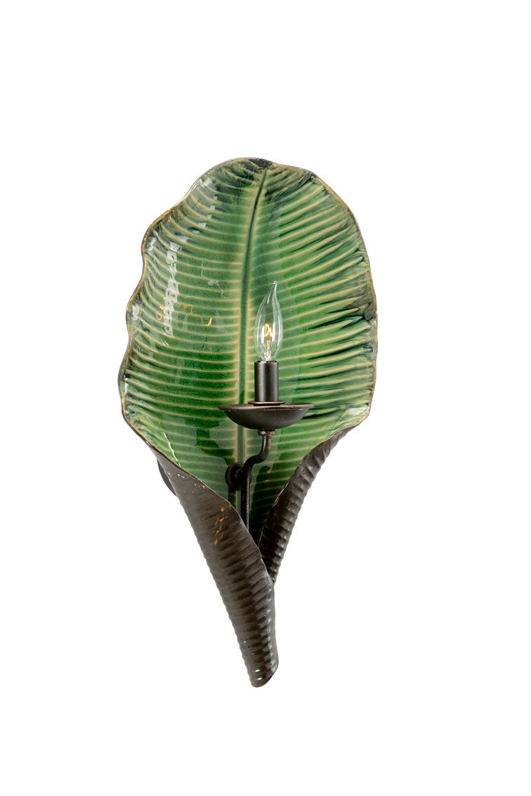 Palm Leaf Sconce
