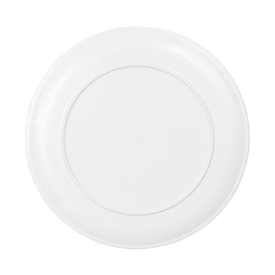 Park Avenue Melamine Plate in vivid colors dining plate from Laura Park Designs underside
