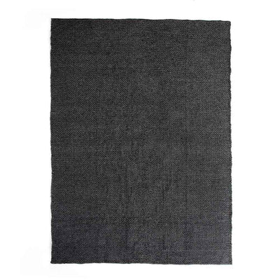 Alvia heathered charcol outdoor rug Four Hands product image