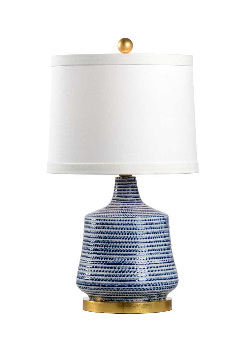 Beehive Lamp Blue Chelsea House