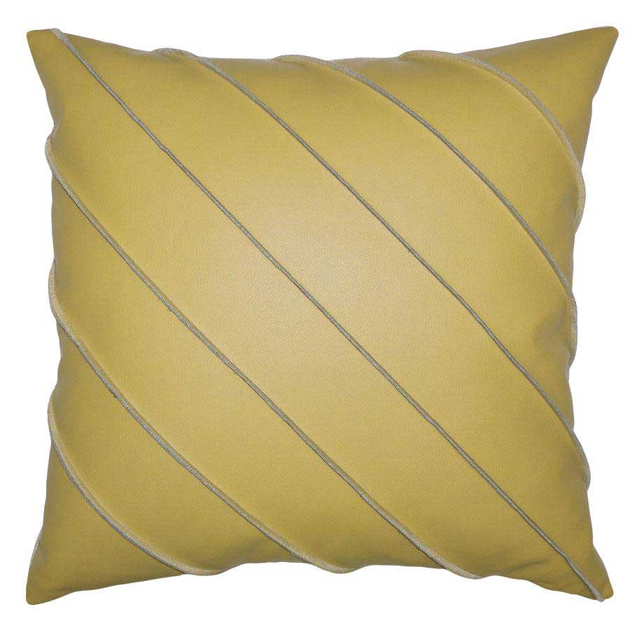Briar Cal Pillow in Citron Square Feathers
