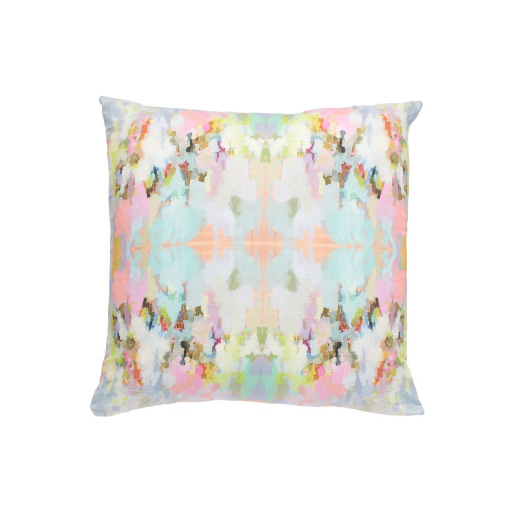 Brooks Avenue Sunbrella® fabric square pillow from Laura Park Designs