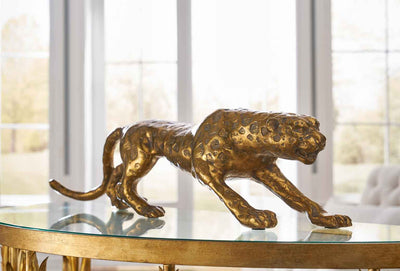Leopard Figurine Table Accessessory Chelsea House Lifestyle Image 2