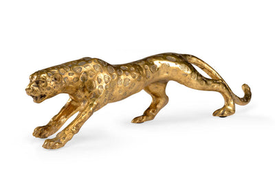 Leopard Figurine Table Accessessory Chelsea House