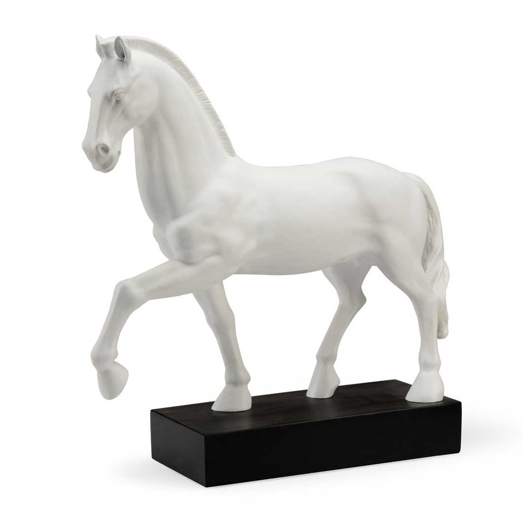 Horse Accent composite figurine Chelsea House