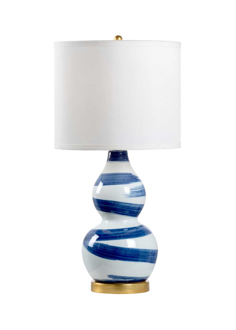 Essex Lamp Cobalt Blue Ceramic