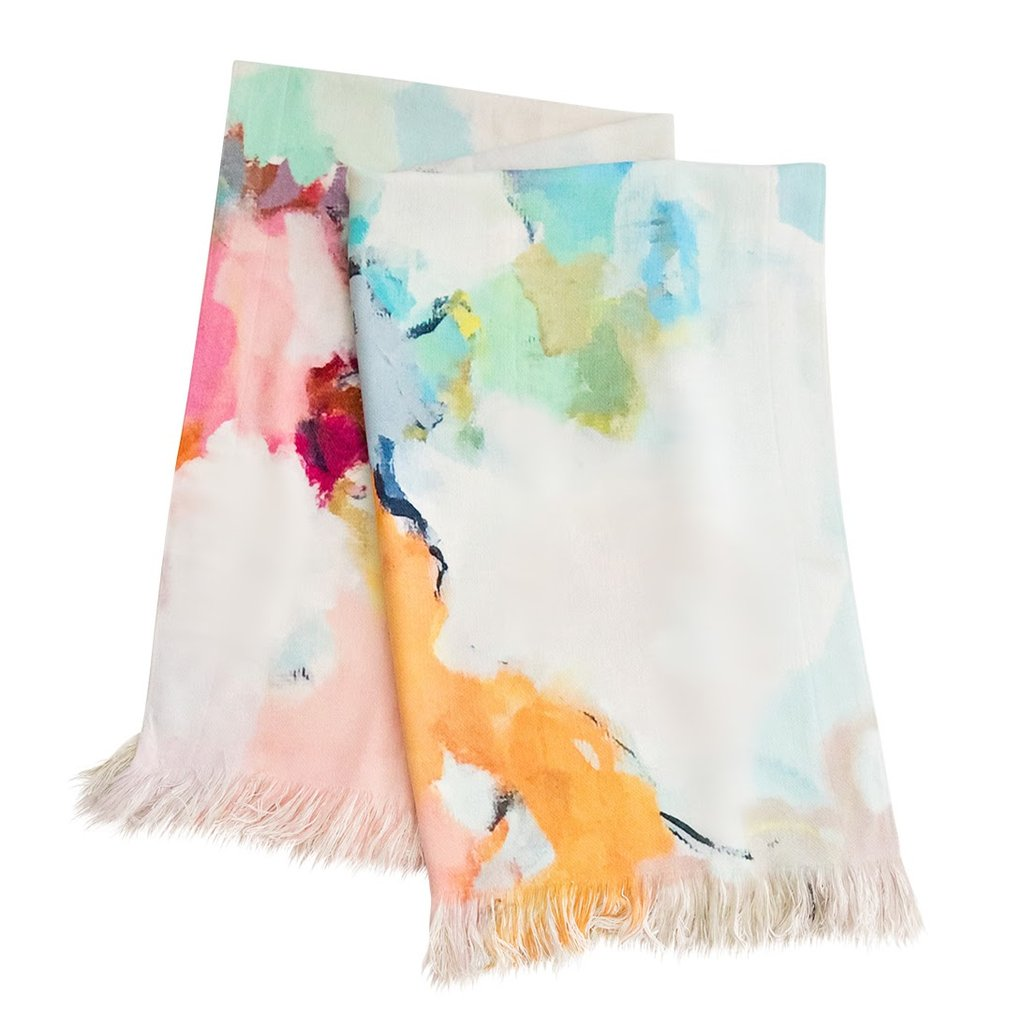 Under The Sea throw blanket vivid color from Laura Park Designs