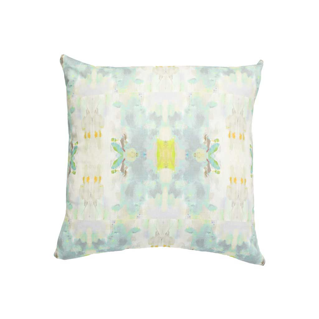 Coral Bay Outdoor Pillow Green Laura Park Designs Square