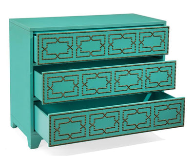 Regatta Blue Turquoise Chest