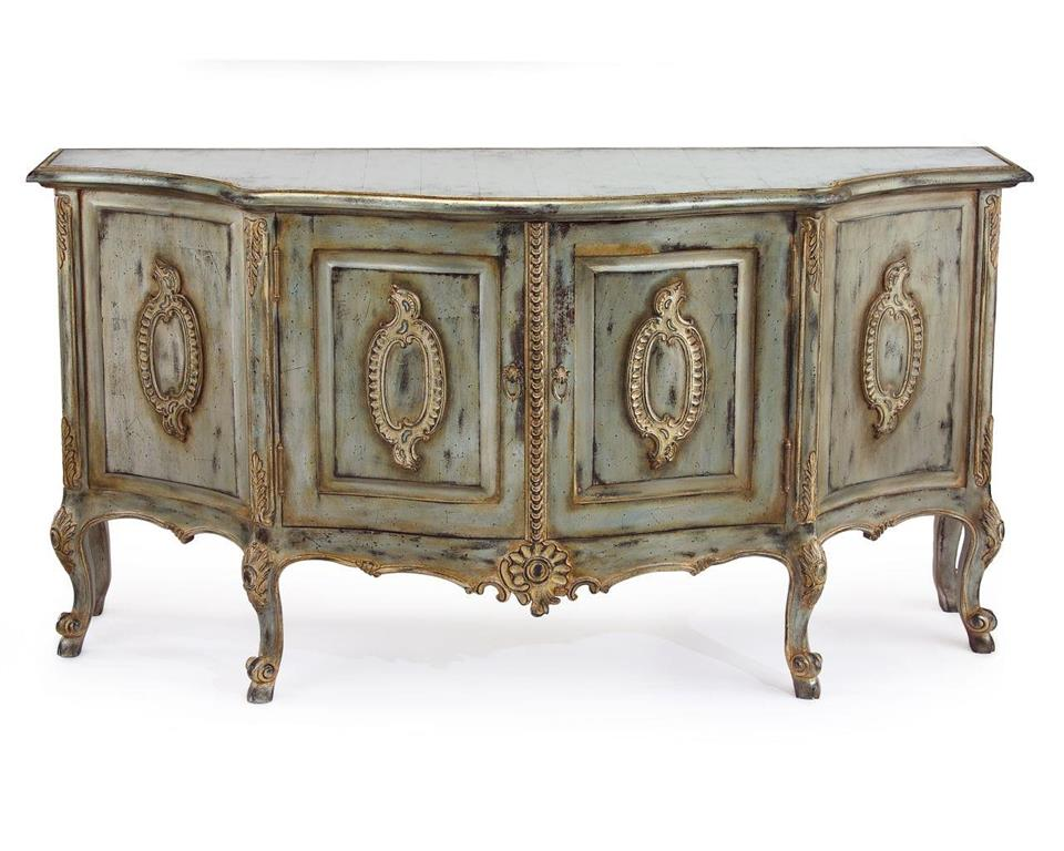 Arezzo Credenza front view from John-Richard Collection
