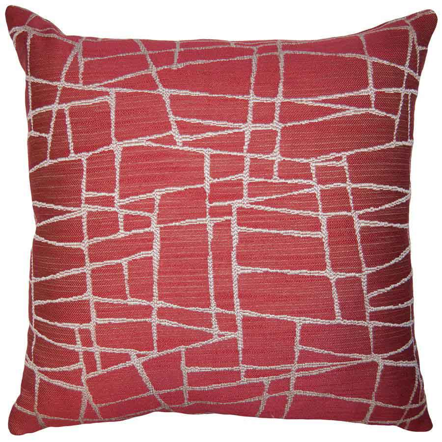 Firestone Web Throw Pillow by Square Feathers