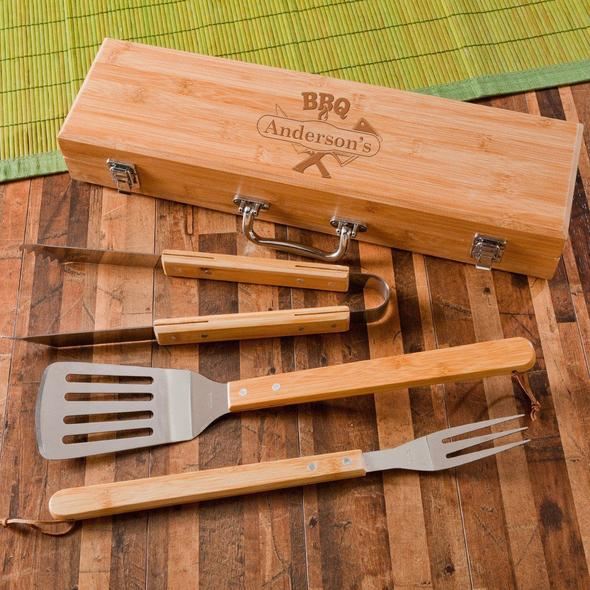 Grill Set - Personalized