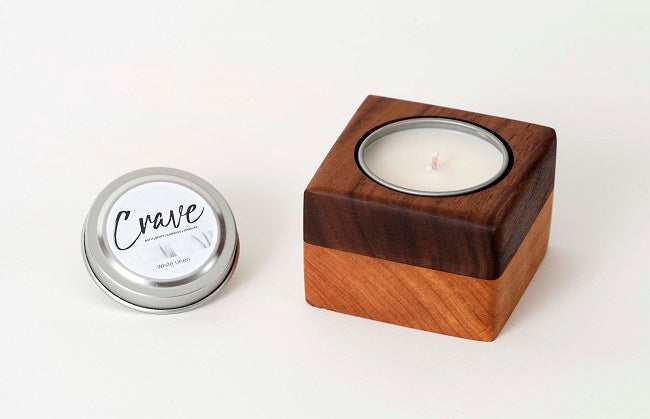 Votive Candle Holder and Travel Tin Candle