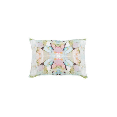 Martini Olives outdoor pillow lumbar shape from Laura Park Designs