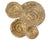 Gold Escargot Wall Hangings