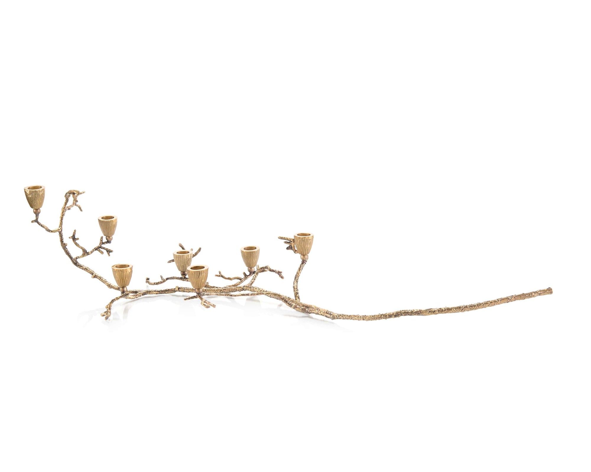 Branch Candleholder-Brass