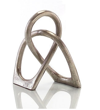 Aged Silver Sculpture - Small