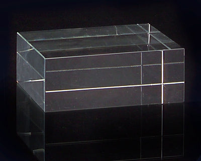 Small Square Optical Glass Stand