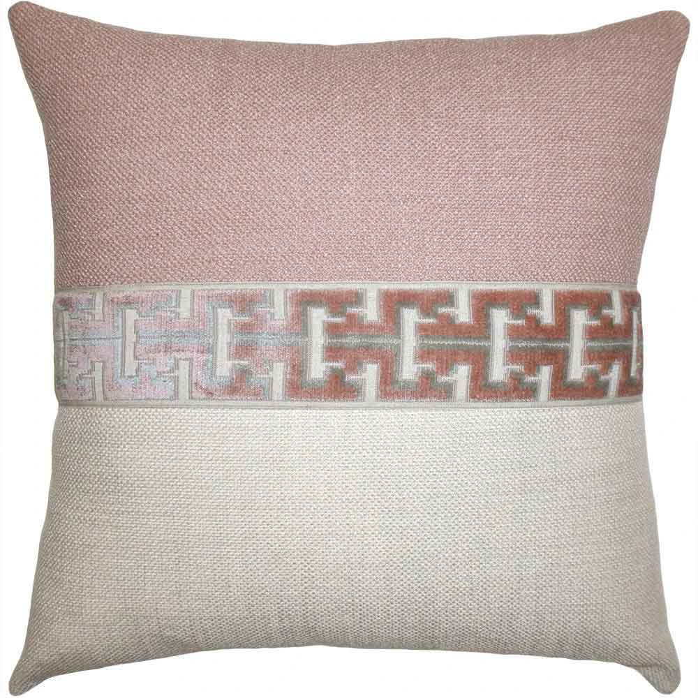 Jager Blush Pillow Square Feathers