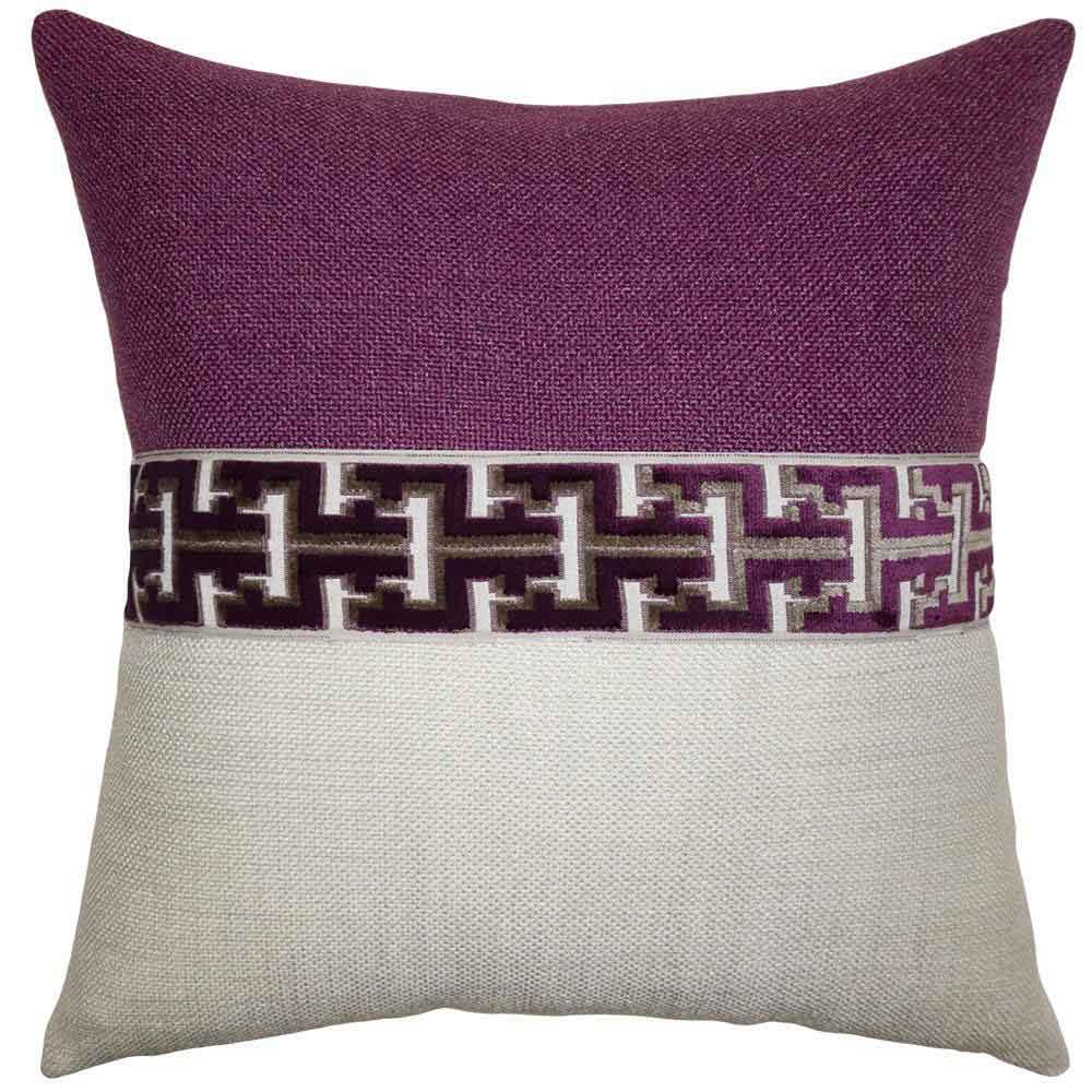Jager Currant Pillow Square Feathers