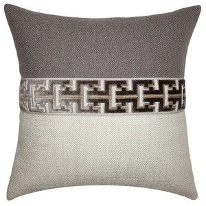 Jager Flax Pillow Square Feathers