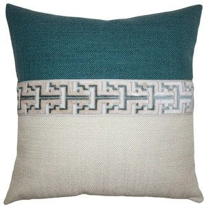 Jager Sky Pillow Square Feathers