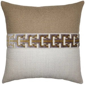 Jager Slate Pillow Square Feathers