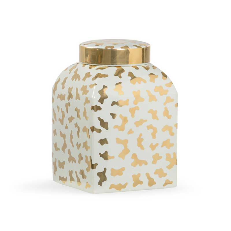 Jungle Ginger Jar in frostworks by Shayla Copas from Chelsea House