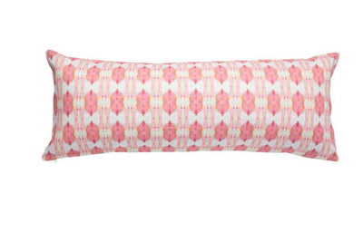 Cinco de Mayo Pink Cotton Linen Pillow Laura Park Designs Bolster