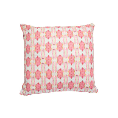Cinco de Mayo Pink Cotton Linen Pillow Laura Park Designs Square