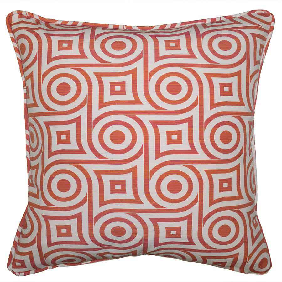 Lantana Maze Pillow Squarefeathers Designer Collection