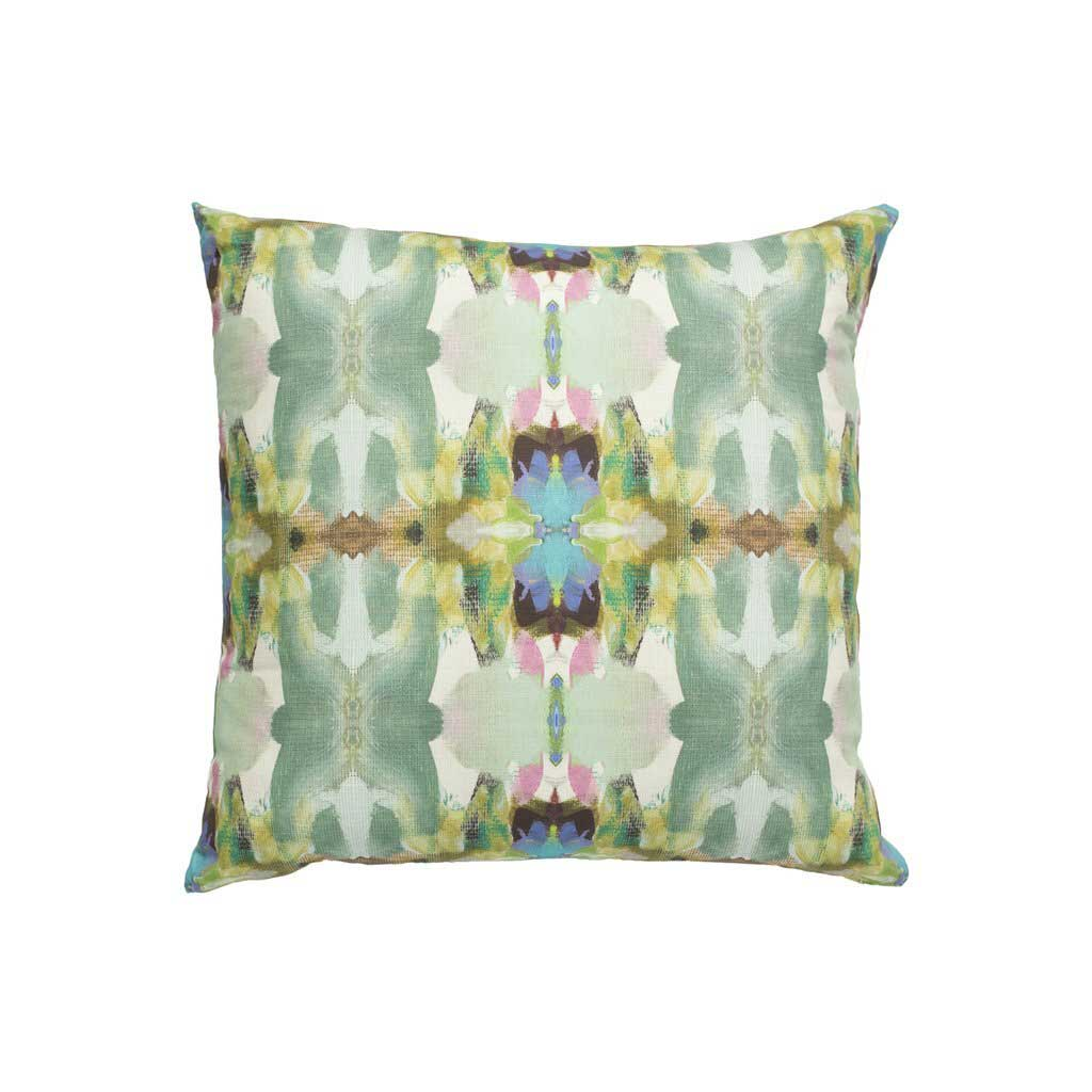 Lawson's Park Outdoor Pillow Purple Square Laura Park Designs
