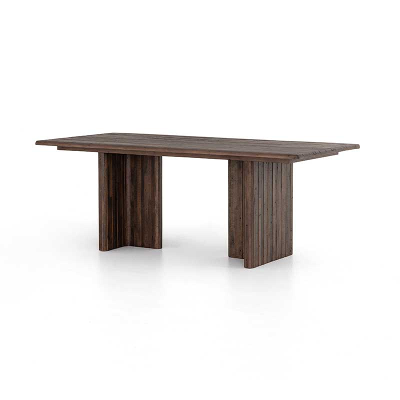 "Lineo 80"" Dining Table in reclaimed woods from Four Hands"