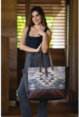 Everyone's Distraction Weekender Bag Lifestyle View Image Myra Bag Harley Butler Trading Company